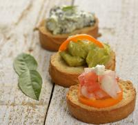 Appetizers Stock Photos