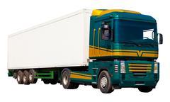 Freight truck - stock photo