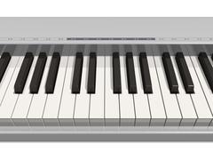 Synthesizer keyboard - stock illustration