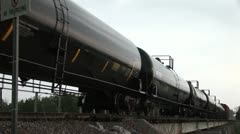 Train hazardous materials Stock Footage