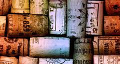 Various wine corks Stock Photos