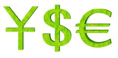 currency symbol - stock illustration