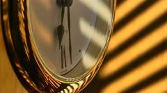 Time lapse clock door Stock Footage