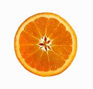 A slice of orange - stock photo