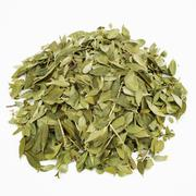 Dried leaves from the Buchu plant (Buccu, Barosma betulina, Agathosma betulina) Stock Photos