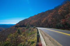 Blue ridge parkway Stock Photos