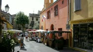 Stock Video Footage of craft market in biot, french riviera