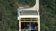 Stock Video Footage of Cable car (ropeway) at Miyajima island in Japan