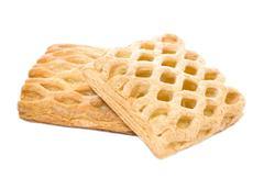 split cookies - stock photo