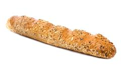 white long loaf - stock photo