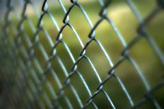 Chainlink fence Stock Photos