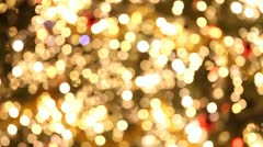 Christmas lights and colors Stock Footage