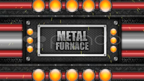 After Effects Project - Pond5 Metal Furnace 14835760