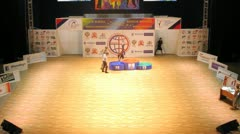 World Master boogie woogie award ceremony Stock Footage