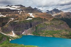 glacier park - stock photo