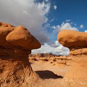 goblin valley - stock photo