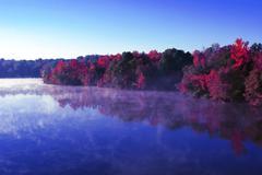 Stock Photo of lake reflections