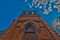 Stock Photo of brick chapel
