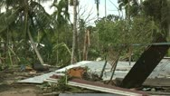 Stock Video Footage of Hurricane Storm Surge Damage To Buildings
