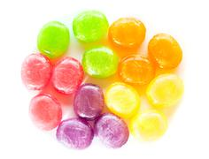fruit drops - stock photo