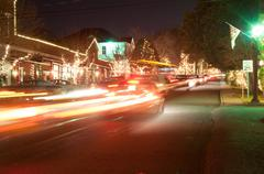 christmas town usa - stock photo