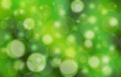 Green bubble background Stock Illustration