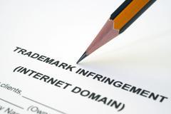 Trademark infringement Stock Photos