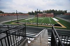 american football stadium - stock photo