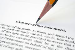 conservation easement - stock photo