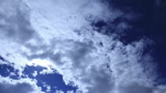 Clouds in Moviment Stock Footage