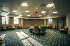 Large conference room Stock Photos