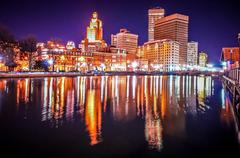 providence rhode island - stock photo