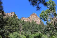 Rocky Mountain Crags I - stock photo