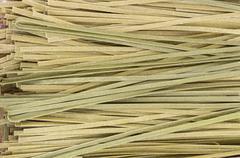 Stock Photo of fresh made pasta on display