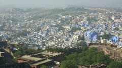 Indian town, Jodhpur. Stock Footage