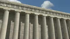 Parthenon 360 Degree Loop Stock Footage