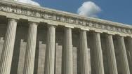 Parthenon 360 Degree Loop Stock Footage