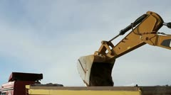 Dozers background Stock Footage