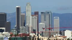 Downtown LA 32 HD - stock footage