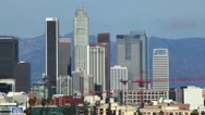 Stock Video Footage of Downtown LA 32 HD