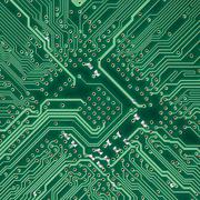 Circuit board electronic square texture Stock Illustration