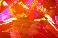Fiery abstraction - graphic orange background Stock Illustration