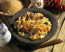 Nasi goreng (Indonesia) - stock photo