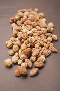 Mixed nuts to nibble - stock photo