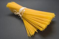 A bundle of spaghetti - stock photo