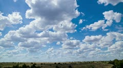 Cloudscape at Australian outback_2 Stock Footage