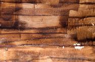 Handmade texture of paint wooden plank Stock Photos