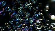 Stock Video Footage of Soap bubbles, Slow Motion