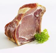 Kassler (smoked, salted pork) Stock Photos