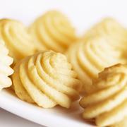 Duchess potatoes - stock photo